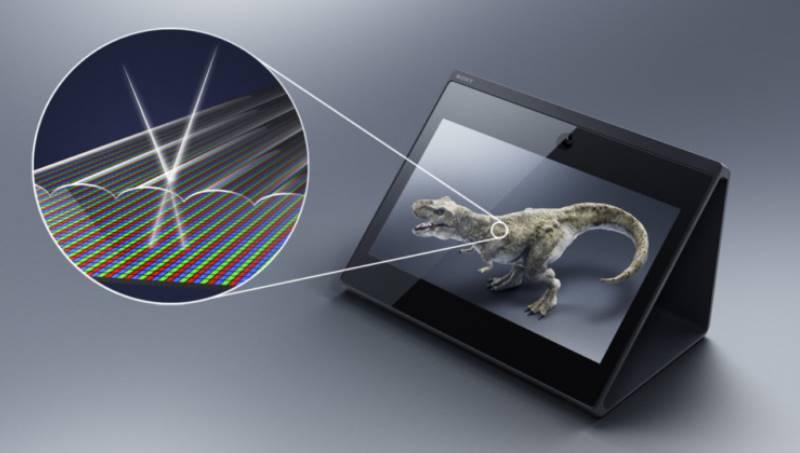 новое устройство может воспроизводить трехмерные пространственные изображения